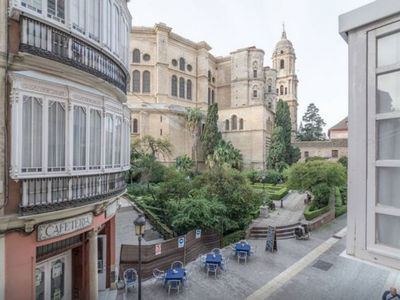 Photo for 1BR Apartment Vacation Rental in Malaga, Andalucia