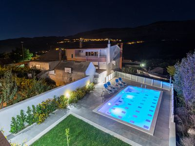 Photo for Luxury Villa Ordulj,with 2 swimming pools,Srinjine, Split