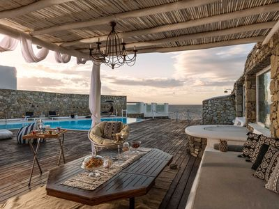 Photo for Villa Aristotelia in Mykonos, with private pool, 5 bedrooms, it can host up to 12 guests