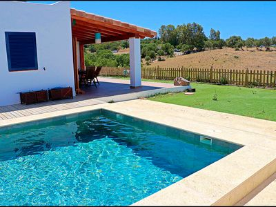 Photo for House in San Ambrosio with shared pool