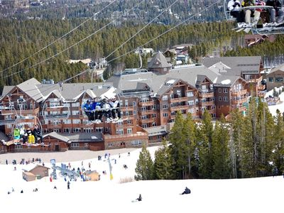 Photo for Ski-in Condo + Balcony | Access Pools, Hot Tubs, Spa, Theater