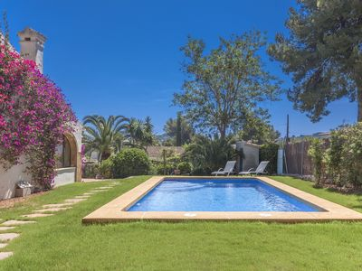 Photo for Nice and sunny 2 bedroom holiday villa with private pool and wifi and in Javea