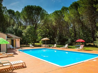 Photo for Gorgeous Holiday Home in Montecatini Val di Cecina with Pool