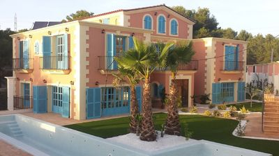 Photo for Sitges Hills house for families and groups.