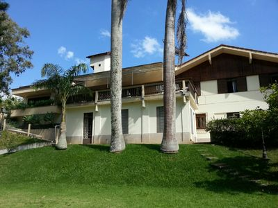 Photo for Wonderful home in Teresopolis with pool, barbecue and football field