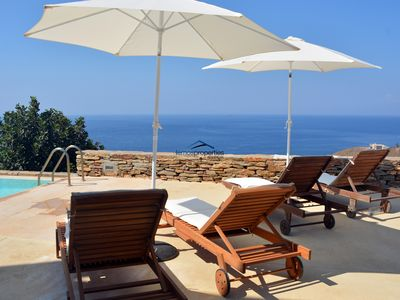 Photo for Family villa with a swimming pool and amazing sea view