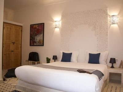 Photo for Standard Double Room, Riad Lamzia in the heart of Marrakech