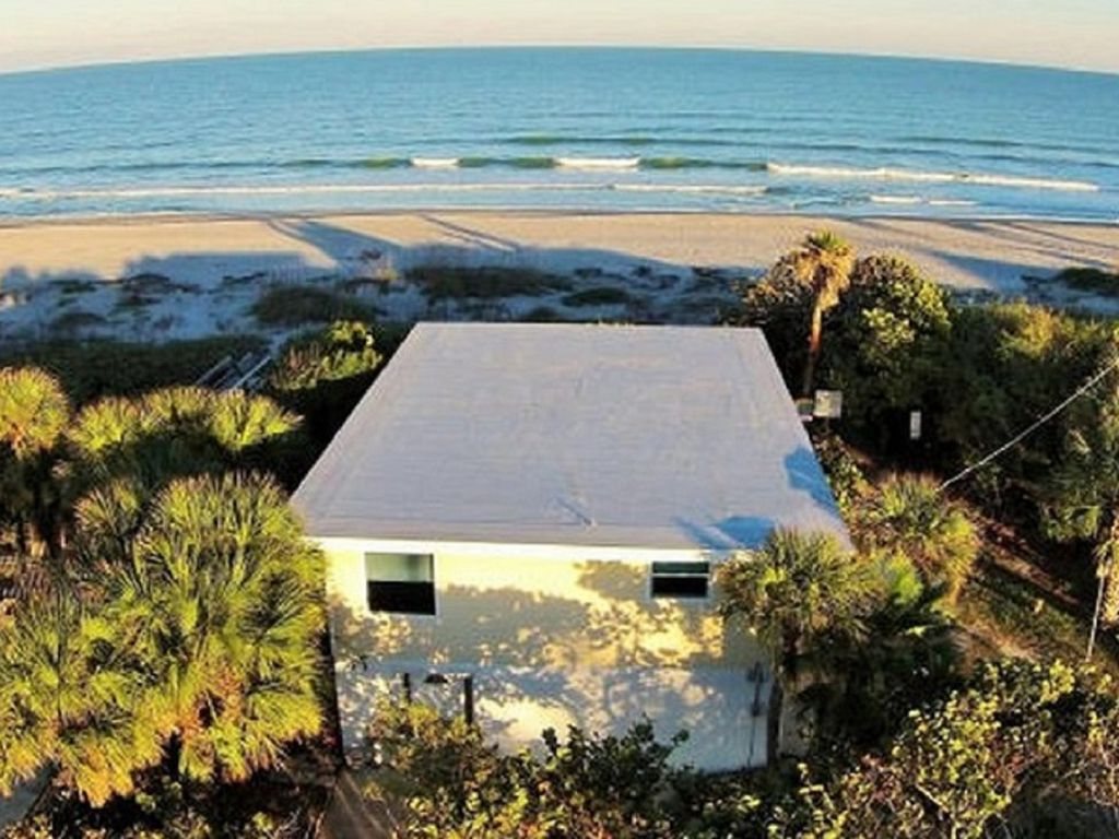 Oceanfront Cocoa Beach House Private Access Sleeps 12