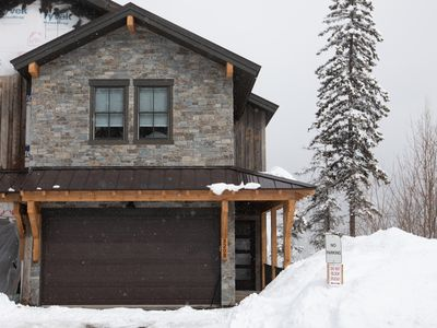 Photo for Ultimate Big Mountain Ski-in/out House!! 7BD 5.5BA w/ hot tub & sauna! Sleeps 26