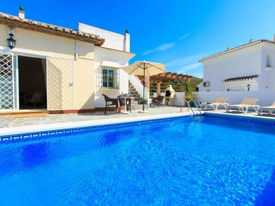 Photo for Stunning private villa for 10 people with private pool, A/C, WIFI and pets allowed