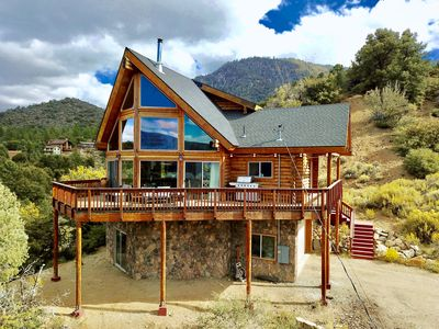 Photo for Log Cabin With Panoramic Views Of The Pines