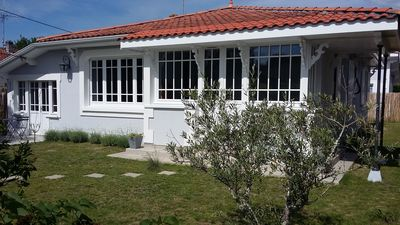 Eponine Villa Charming Typical House Bassin D Arcachon In
