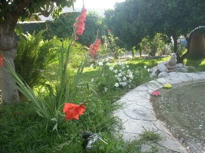 Photo for 2 MINUTES FROM MOTRIL AND TORRENUEVA. POOL AND LARGE LANDSCAPED AREA. PLAY