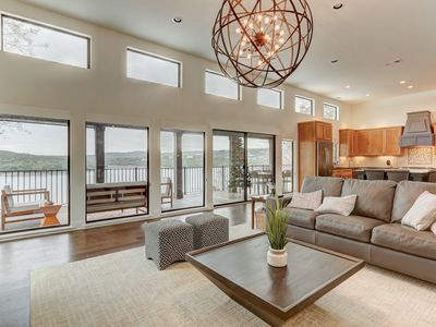 Photo for Vista Volente Waterfront Home with Boat Dock!