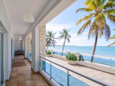 Photo for 2 bedroom luxury beachfront apartment