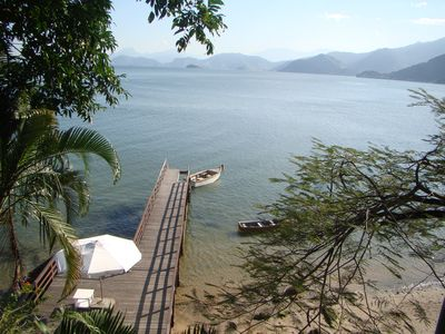 Photo for Great sea front house with private pier. Optional cleaning / cooking service.