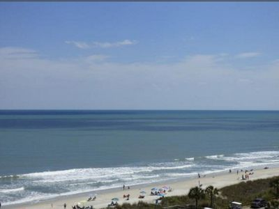 Photo for Amazing beach views from your balcony at a great price!