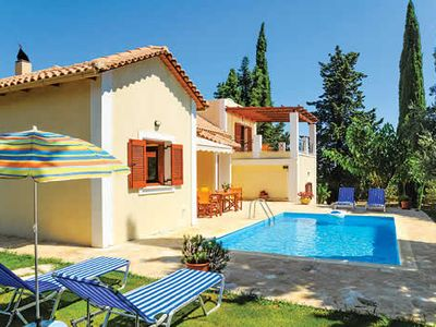 Photo for Spacious, comfortable village-based villa w/ sun terrace and pool