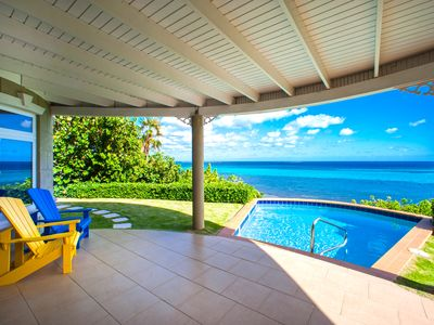 Castle Guesthouse: Cozy Guest Cottage w/ Private Pool and Deck with Ocean Views!