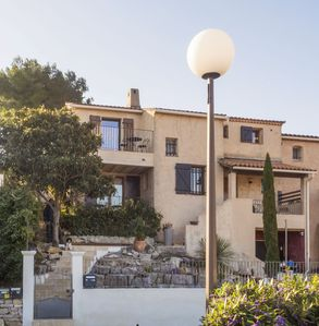 Photo for Stunning villa nestled in heights of Hyères, quiet location - All season rental