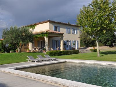 Photo for Beautiful holiday property in Monteux, Vaucluse, private pool