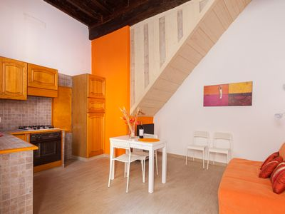 Photo for Cute, Charming & Completely Renovated 1-Bedroom In Trastevere!