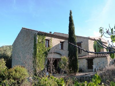 Photo for Villa 6 people heated pool and air conditioning. Languedoc