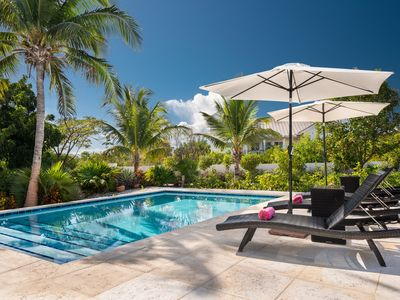 Photo for Private pool, 2 minute walk to Sapodilla Beach access and Las Brisas restaurant!