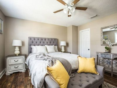 Central Location. Minutes from Downtown, French Quarters, and Superdome.