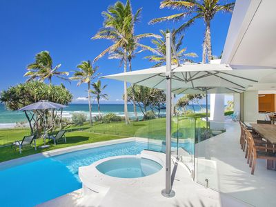 Photo for Absolute Beachfront Sunshine Beach, Direct Beach Access - Privacy & Seclusion...