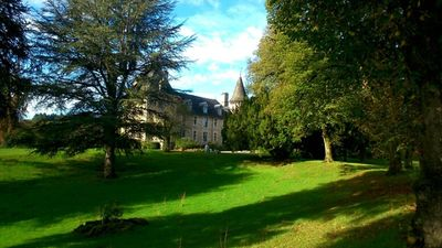 Photo for Idyllic Family Chateau with Pool in Beautiful Correze