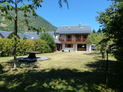 Photo for Comfortable and quiet house with a garden in the Pyrenees, close to St-Lary
