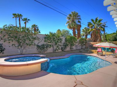 Photo for MID-CENTURY MODERN BEAUTY w/ PRIVATE POOL & SPA SLEEPS SIX