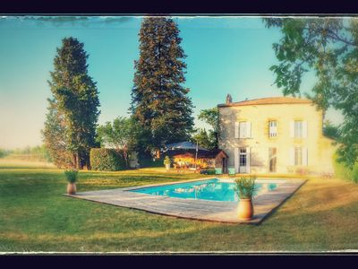 Photo for Homestays, one with a window overlooking the outdoor pool