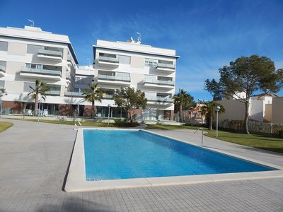 Photo for Penthouse Apartment close to bars and restaurants Los Dolses