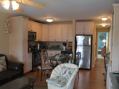 Photo for Beautiful Upgraded End Unit 2nd Floor Ocean View 1 Bedroom Condo, Sleeps Up to 7