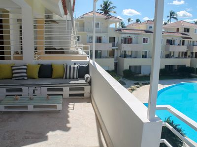 Photo for LUX PENTHOUSE 3BR, 3 BT, BBQ, OCEAN&POOL VIEW, LOS CORALES BEACH