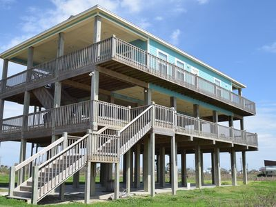Large 3 bedroom beachfront - with mezzanine deck - Bonita Vista