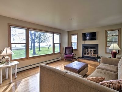 Photo for Charming Neenah House w/ Porch on Lake Winnebago!
