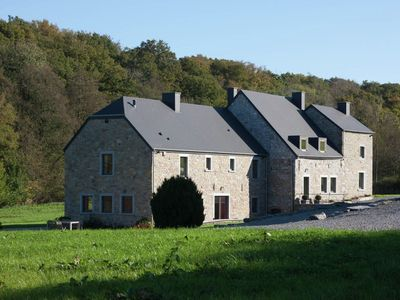 Photo for Superb mill in the Dinant countryside with large garden. All-in costs!