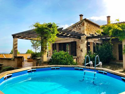 Photo for Holiday Country house Mallorca with splash pool sleeps 6