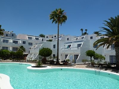 Photo for Modern Poolside Apartment, Peaceful Atalaya Complex Central Puerto Del Carmen