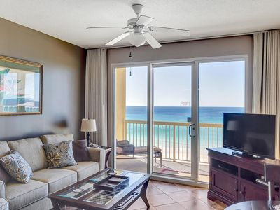 Photo for Calypso 605 East - Oceanfront Master, Beach Chairs