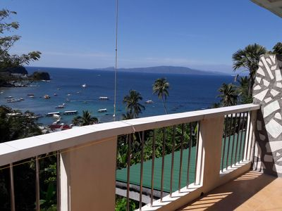 Photo for 2 bedroom Appartment with Balcony. Great view over Sabang Beach Bay & Village.