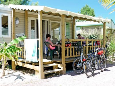 Photo for Campsite Les Blancs Chênes **** - Mobil Home Family Large Comfort TV 3 Rooms 4/6 People
