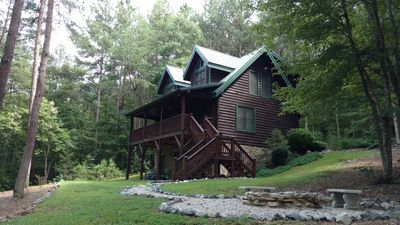 Photo for Log Cabin Retreat At Hidden Lake (near Marion) Discounted Spring Rates!
