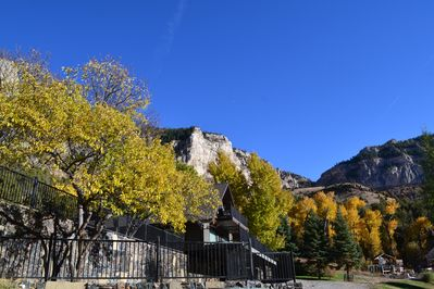 Beautiful fall colors! Every season is breathtaking in the canyon.