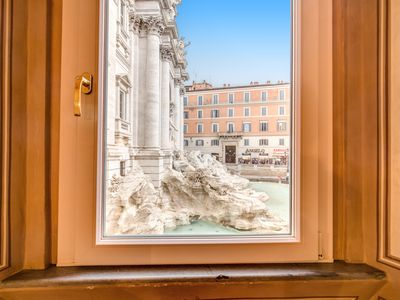 Photo for Two Bedroom Apartment Directly Upon Trevi Square