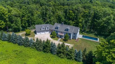 9 acres of privacy