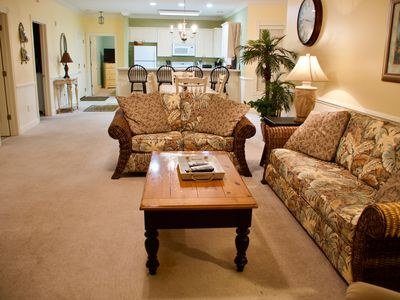 Photo for Stunning, Spacious, Fully Equipped 3 Bedroom, 2 Bath Condo - sleeps 8, Free Wif